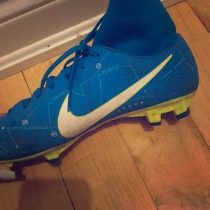Nike cleats, worn twice. US Size 7